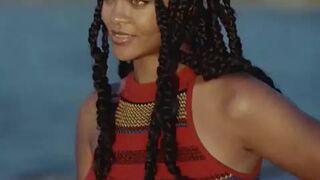 Rihanna giving that look...