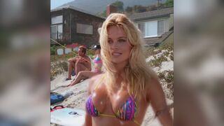 Pamela Anderson bikini bustin plot in 'Baywatch'