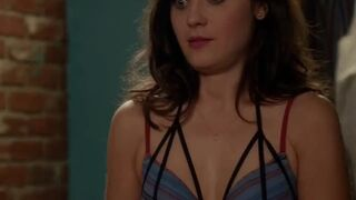 Goddess Zooey Deschanel gives approval of having some filthy depraved perverts overpoweringly breeding her. Ceaselessly providing her amazing tight wet pussy & fantastic highly fertile womb, with dirty warm thick seed. For an entire month. Ending up h