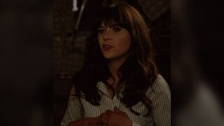 True goddess Zooey Deschanel wants to be a real naughty bad girl. Even if her divorce isn't finished yet. Ordering her new lover & boyfriend. To just go ahead & get her pregnant. In order to deceitfully get back at her ex-husband to be.