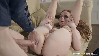Ella Hughes gets pussy filled with Danny's monster cock