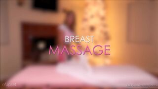 Darcie Dolce gets her tits massaged by August Ames, then returns the favor