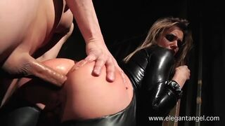 Tori Black gets her ass fucked doggystyle - Catsuit!