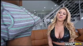 MonstersOfCock - Katie Morgan Interviewed and Fucked