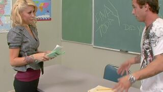 Monique Alexander - Monique Alexander fucks in classroom