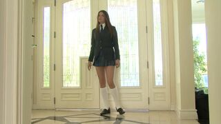 Tori Black gets taught a lesson after cutting class