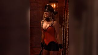 Kaley Cuoco wants it rough. Let's give it to her