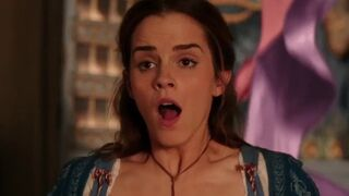 Emma Watson's face when you pull out your cock