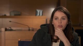 I would the happiest man on earth if I could get a blowjob from Felicity Jones.