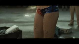 This gif with Margot Robbie as Harley Quinn looks like she's about to get brutally gangbanged.