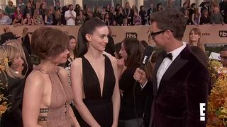Kate & Rooney Mara would be the perfect threesome
