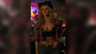 Aly Michalka spots you across the bar, you take her back to your place to let that little cow girl ride you