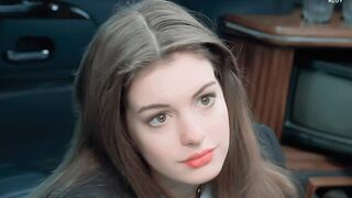 18 year old Anne Hathaway wants daddy's fat cock