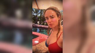 Caity Lotz has great tits