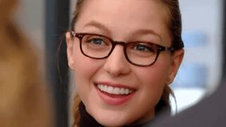 Jealous secretary Melissa Benoist is back. Trying to keep a straight face when she runs into you and your girl.