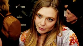 How roughly would you fuck Elizabeth Olsen's face?