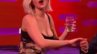 Jennifer Lawrence has been a teasing whore for so long. Let's gangbang this worthless fuckmeat very hard to make her pay for it.