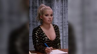 After you tell Debby Ryan you're going to cum all over her thick tits