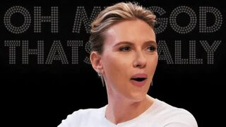 Scarlett Johansson after she tastes your thick warm load