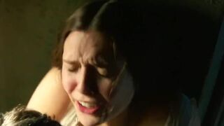 Elizabeth Olsen is definitely a screamer