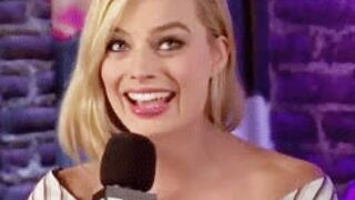 Margot Robbie tells the story of when she walked into a room and saw ten massive BBCs waiting for her