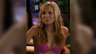 Gosh ! I wanna rail Kristen Bell's Tight Body and cover her with cum from head to toe and watch her lap it up like a good slut
