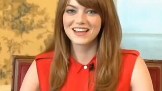 Emma Stone signalling you to give her some cock