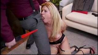 FamiliesTied - India Summer, Cadence Lux Agent India Summer's Ass is Destroyed by Son-In-Law