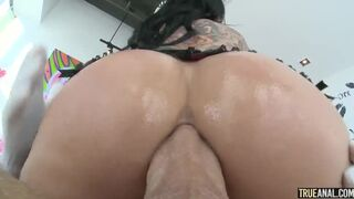 Tattooed Big Ass Slut Joanna Angel Cowgirl Anal