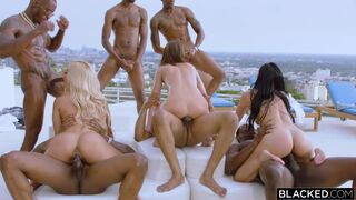 Bad Bitches - featuring Teanna Trump, Adriana Chechik & Vicki Chase