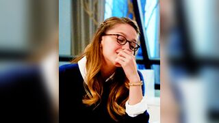 Your student, Melissa Benoist, fantasizing about seeing you during your office hours later in the day...
