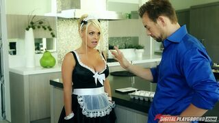 Jesse Jane is maid for sex