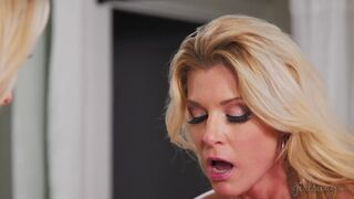 Lets Find Best Position for pussy pleasure - Katie Morgan and India Summer
