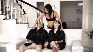 Joanna Angel, Adria Rae FMF Threesome