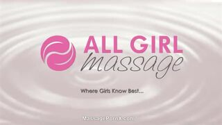 Lesbian Massage August Ames Threesome