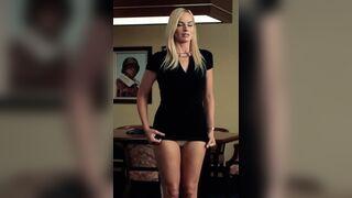 Legs: Margot Robbie