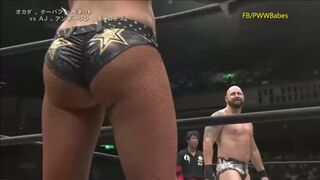 Maria Kanellis causes a distraction