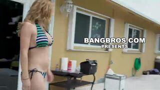 Pool Side Fuck Fest w/ Nickiee, Krissy Lynn, & Rose Monroe