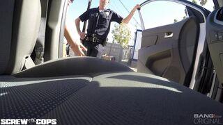 Kira Noir fucking a cop