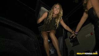 Carter Cruise goes to a crazy party