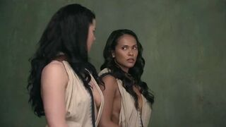 Jessica Grace Smith Used Hard in SPARTACUS