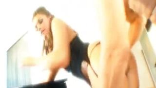 Tori Black getting fucked doggystyle by Mark Ashley - Stockings