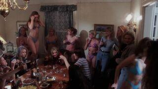 Hilary Swank and Jenna von Oÿ - Dying to Belong Bikini Plot