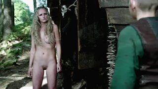 Maude Hirst full frontal plot from Vikings