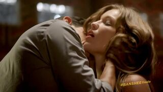Lili Simmons squirms in Banshee