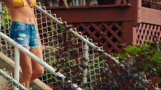 Ashley Greene bikini plot in Staten Island Summer