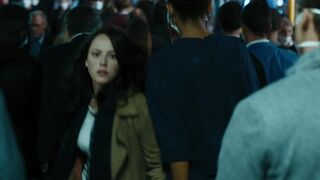 Kaya Scodelario big and bouncy in Maze Runner: The Death Cure