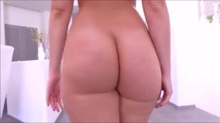 Alexis Texas walking with a buttplug