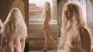 Emilia Clarke, Mother of Dragons - all of her plot throughout Game of Thrones, at highest quality