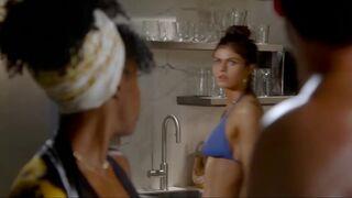 Alexandra Daddario - bikini plot in 'Why Women Kill'